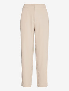 Shizen - straight leg trousers - simply taupe