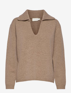 Boogie Thing Jumper - pulls - oatmeal