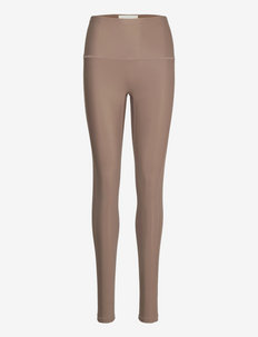 Sugoi High Waist Tights - leggings - cocoabrown