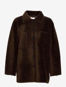 Sealiner Teddy - vestes en tissu peluche - coffebean