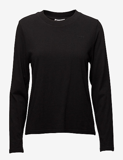 Merete - t-shirt & tops - jet black