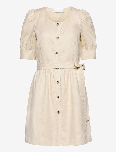 Simone - korta klänningar - vanilla custard