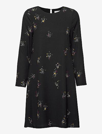 Torn - midiklänningar - ikebana flower mini black
