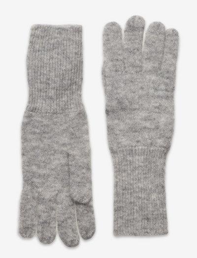 Would You - handskar & vantar - light grey melange