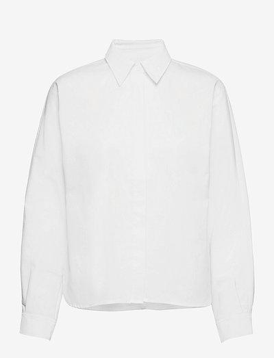 Wabi Shirt - långärmade skjortor - bright white