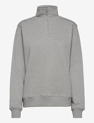 Gimme Some More Sweat - sweatshirts & hoodies - light gray melange
