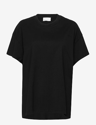 Thale - t-shirts - jet black