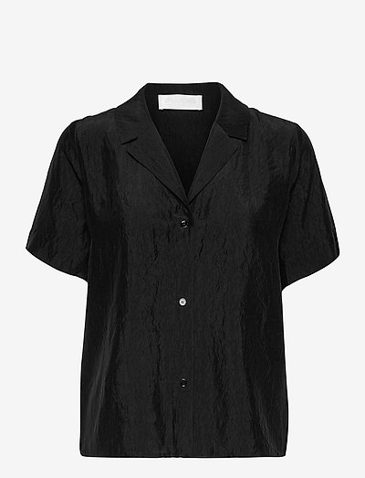 Hong Kong Garden - kortärmade skjortor - anthracite black