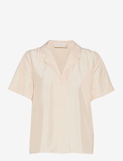 Hong Kong Garden - kortärmade skjortor - jet stream white