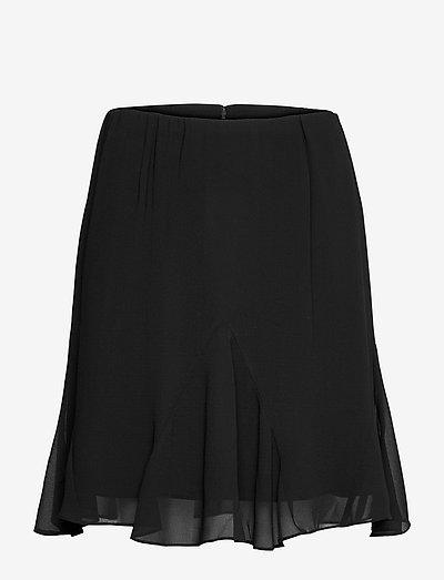Luna Skirt - midi - anthracite black