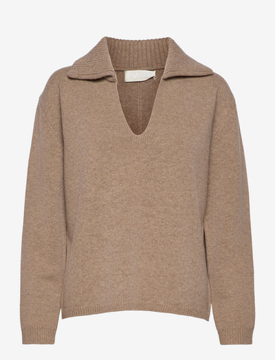 Boogie Thing Jumper - tröjor - oatmeal
