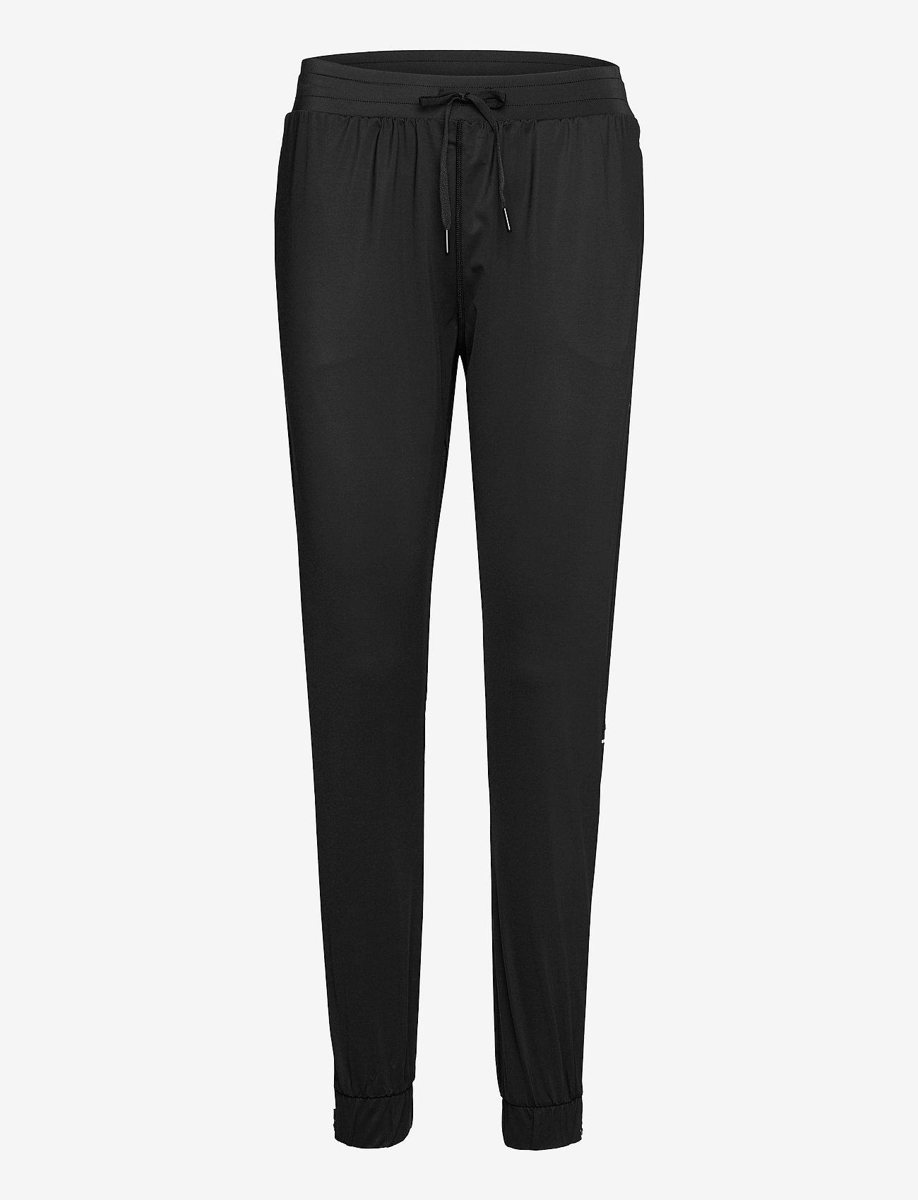 Famme - Black Active Pants - sportbroeken - black - 0