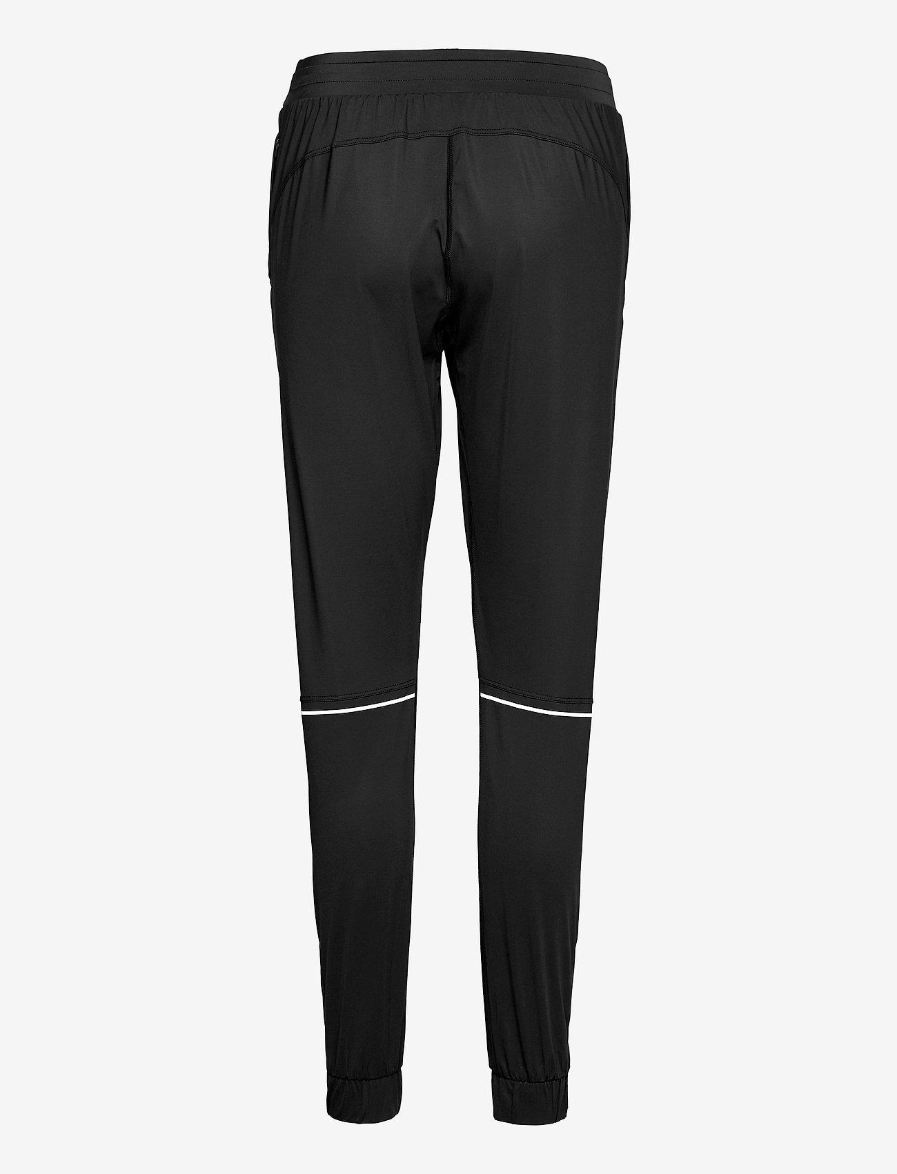 Famme - Black Active Pants - sportbroeken - black - 1