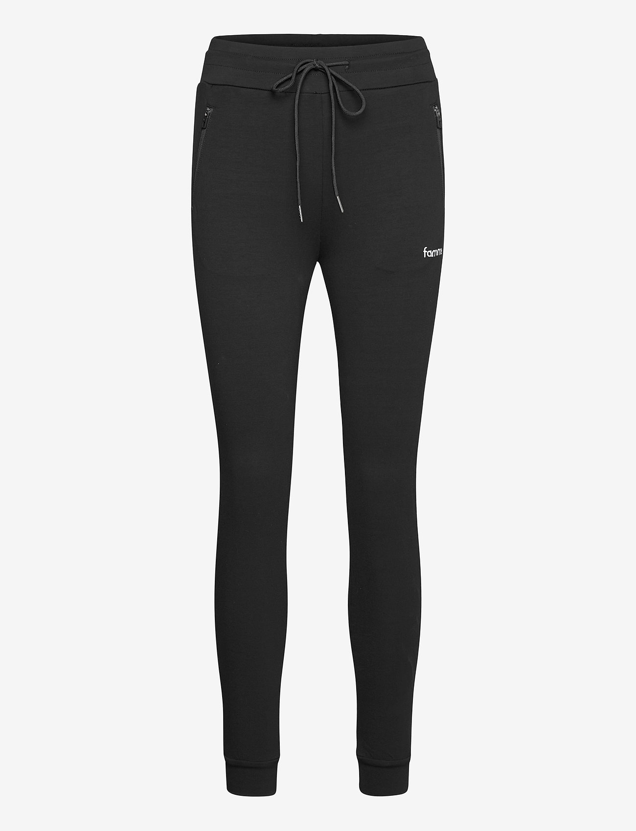 Famme - Black Fit Jogger - pantalon de sport - black - 1