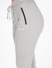 Famme - Black Fit Jogger - træningsbukser - melange grey - 4