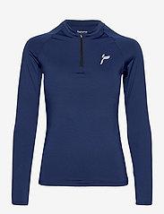 Famme - Essential Long Sleeve - topjes met lange mouwen - blue - 0