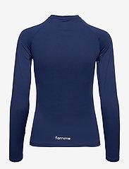 Famme - Essential Long Sleeve - topjes met lange mouwen - blue - 1