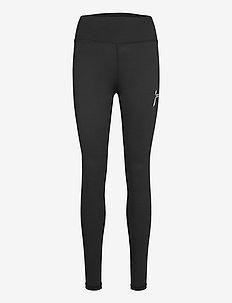 Black Essential High Waist Tights - løpe- og treningstights - black