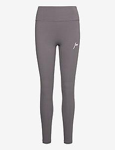 Gym Tights - running & training tights - grey