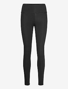 Black Lux Tights - løpe- og treningstights - black