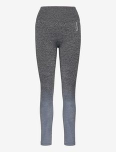 Ombre Tights - running & training tights - grey