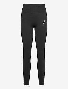 Black Vortex Leggings - sportleggings - black