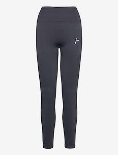 Black Vortex Leggings - sportleggings - dark grey
