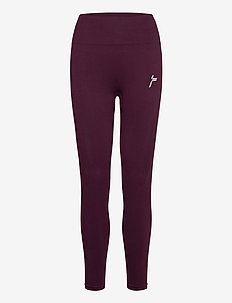 Black Vortex Leggings - collants d'entraînement - wine