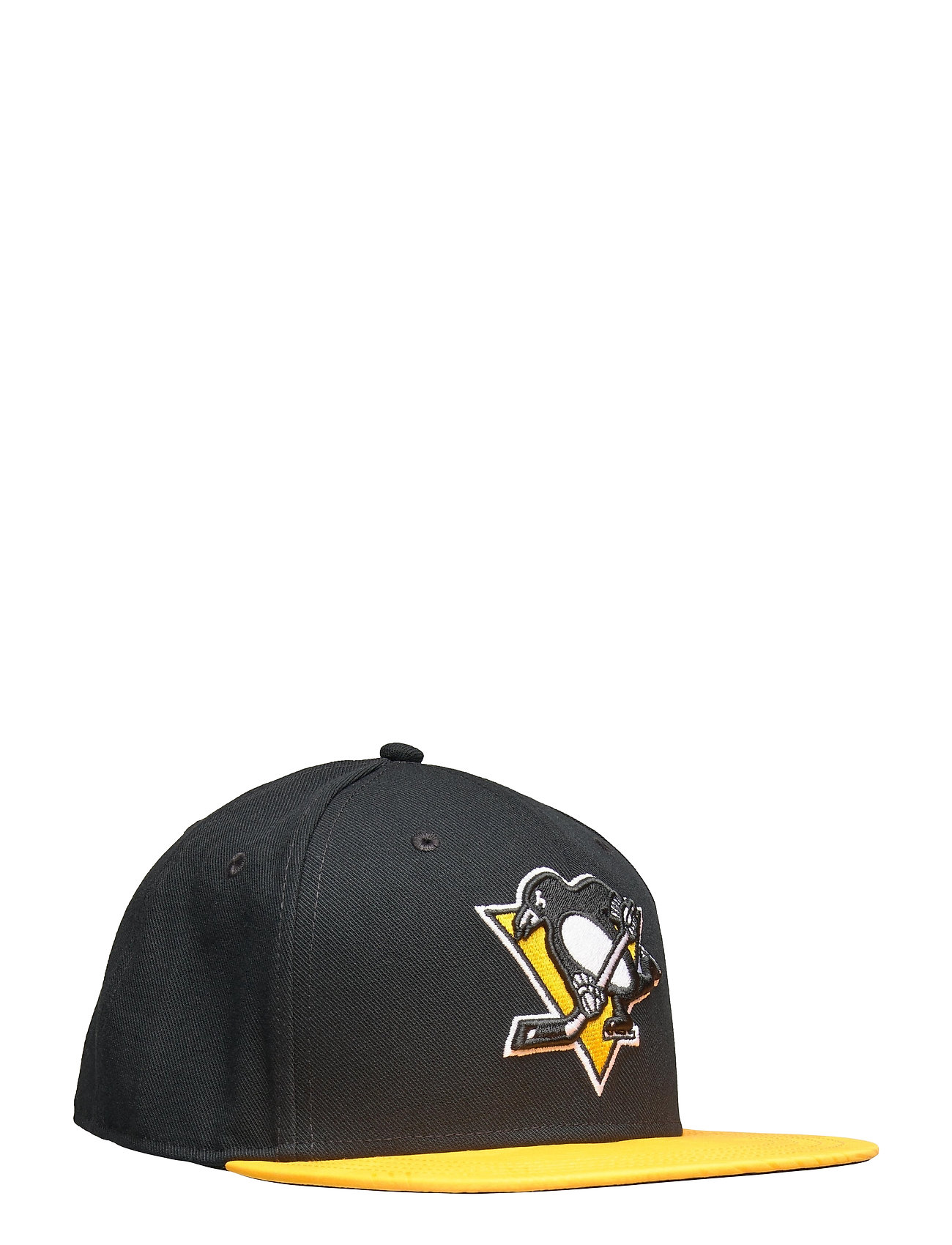 Image of Pittsburgh Penguins Iconic Defender Snapback Cap Accessories Headwear Caps Sort Fanatics (3486936811)