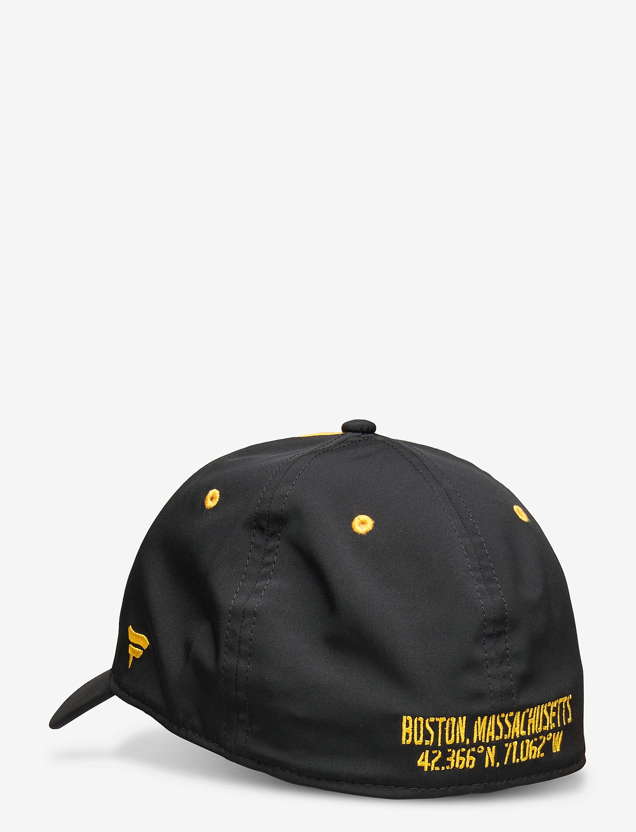 Fanatics - Boston Bruins Iconic Defender Stretch Fit Cap - caps - black/yellow gold - 1