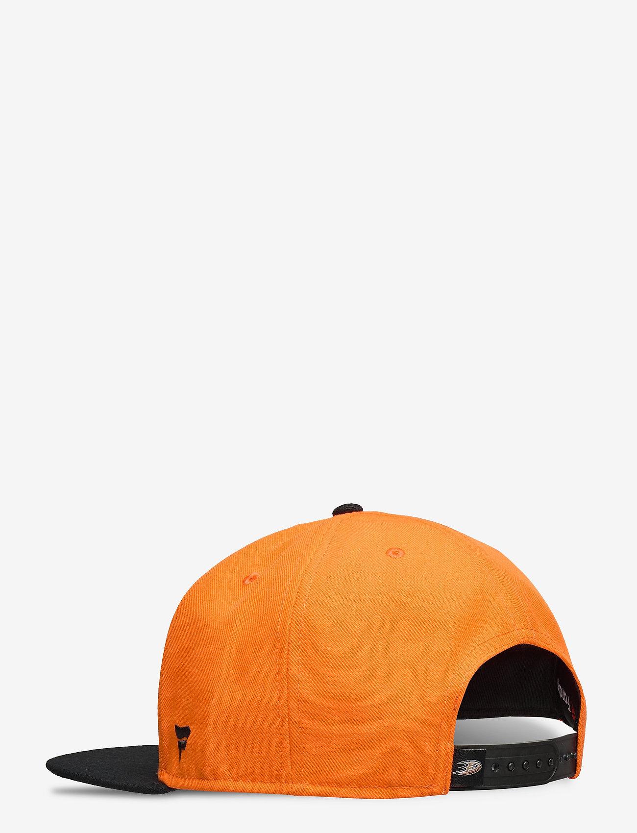 Fanatics - Anaheim Ducks Hometown Snapback Cap - petten - black/dark orange - 1