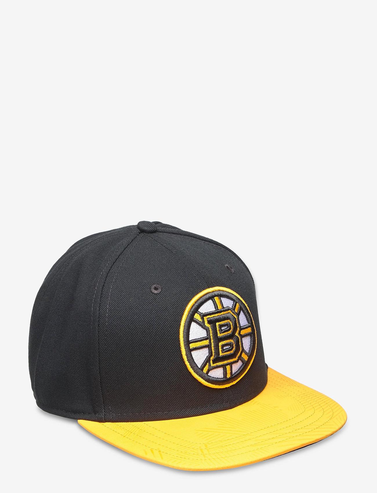 Fanatics - Boston Bruins Iconic Defender Snapback Cap - caps - black/yellow gold - 0