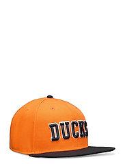Anaheim Ducks Hometown Snapback Cap - BLACK/DARK ORANGE