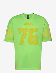Fanatics - Seattle Seahawks Franchise Poly Mesh Supporters Jersey - t-shirts - lime - 0