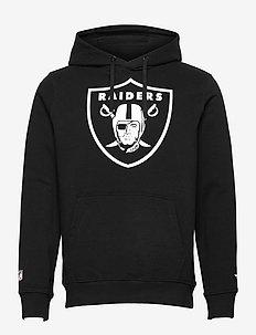 Las Vegas Raiders Mid Essentials Crest Graphic Hoodie - pulls a capuche - black