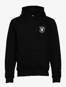 Las Vegas Raiders Gold Logo Graphic Hoodie - basic sweatshirts - black