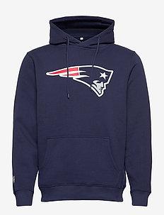 New England Patriots Iconic Primary Colour Logo Graphic - hettegensere - navy