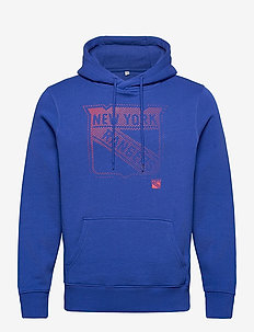 New York Rangers Fade 1 Core Graphic Hoodie - hettegensere - royal