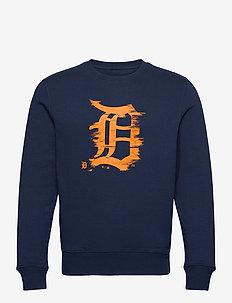 Detroit Tigers Worn Core Graphic Crew Sweatshirt - overdele - navy