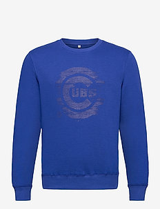 Chicago Cubs Worn Core Graphic Crew Sweatshirt - overdeler - royal