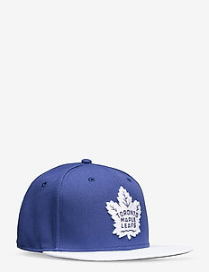 Toronto Maple Leafs Iconic Defender Snapback Cap - caps - blue cobalt/white