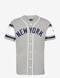 New York Yankees Franchise Cotton Supporters Jersey - sports tops - sports grey