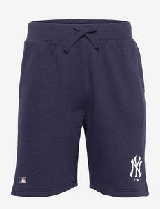 New York Yankees Mid Essentials Sweat Short - casual shorts - navy