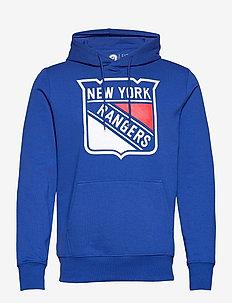 New York Rangers Value Essentials Overhead Hoodie - hættetrøjer - royal