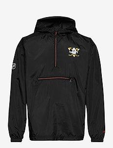 Anaheim Ducks Iconic Back To Basics Lightweight Jacket - anorakit - black