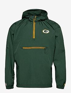 Green Bay Packers Enhanced Sport SS21 Lightweight Jacket - anorakker - pine needle