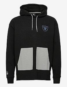 Las Vegas Raiders Diffusion SS21 Overhead Hoodie - basic sweatshirts - black