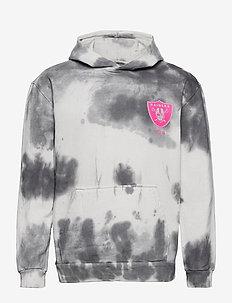 Las Vegas Raiders Tie Dye Graphic Hoodie - basic sweatshirts - tie dye