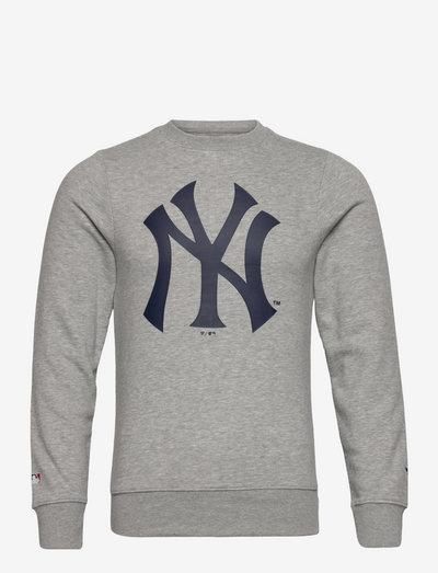 New York Yankees Mid Essentials Crest Crew Sweatshirt - sweats - sports grey