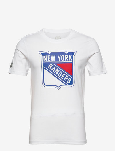 New York Rangers Mid Essentials Crest T-Shirt - t-shirts - white